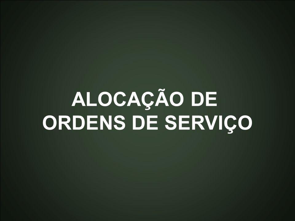 Introdução à Otmização Marcone Jamilson Freitas Souza 15 ALOCAÇÃO DE ORDENS DE SERVIÇO