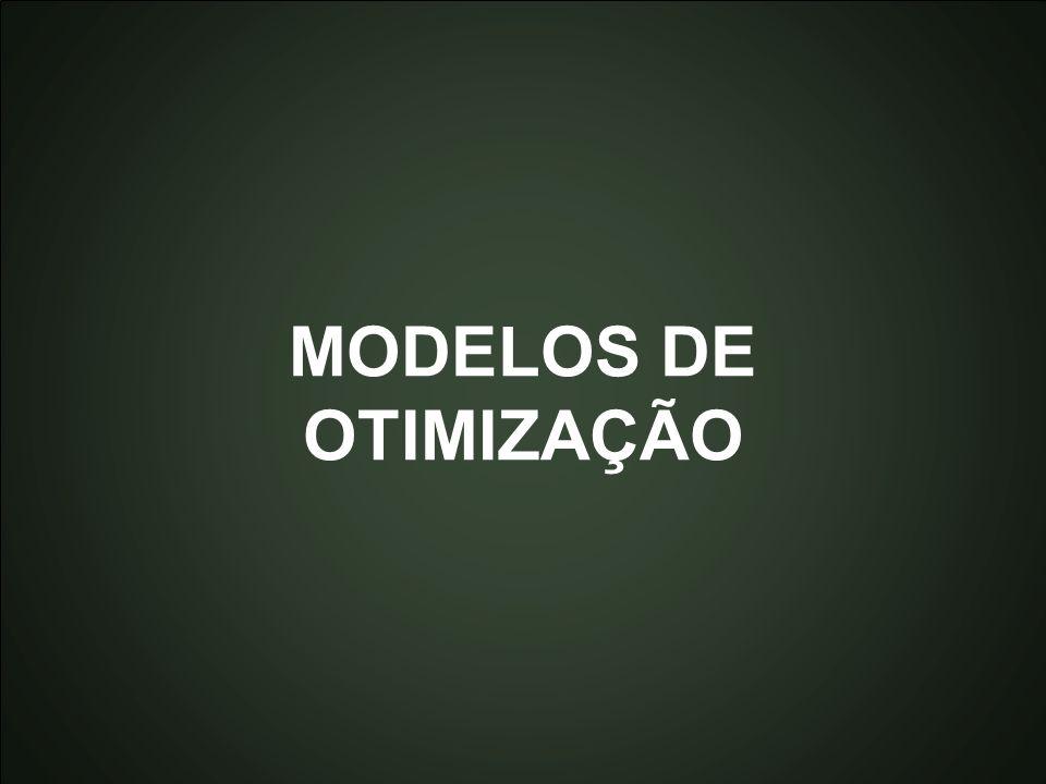 Introdução à Otimização Marcone Jamilson Freitas Souza 38 MODELOS DE OTIMIZAÇÃO