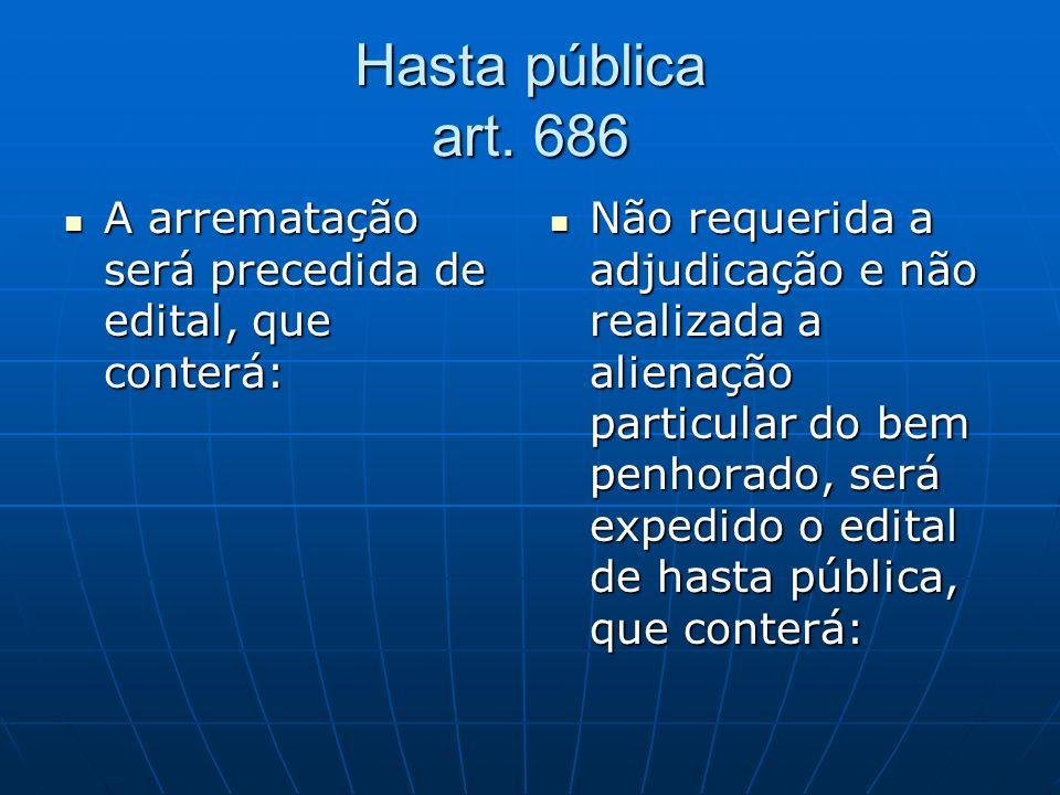 Hasta pública art.