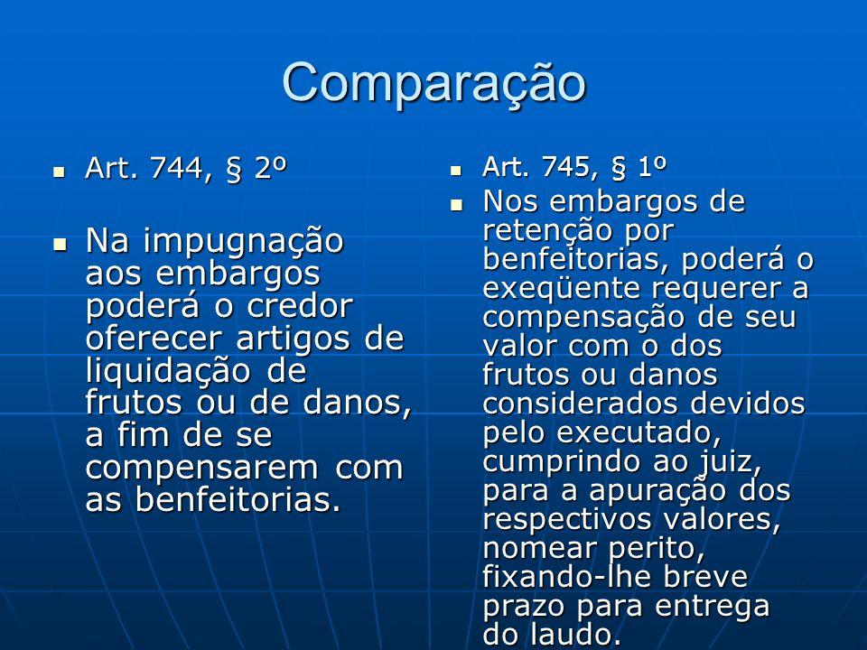Comparação Art.744, § 2º Art.