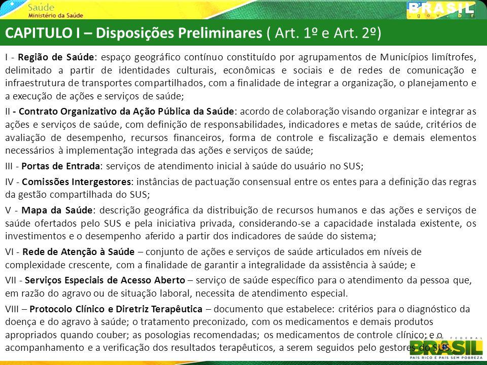 Finalidade de ORGANIZAR O SISTEMA DE SAÚDE REGIONAL 18 O Contrato Organizativo deve ser único na Região.