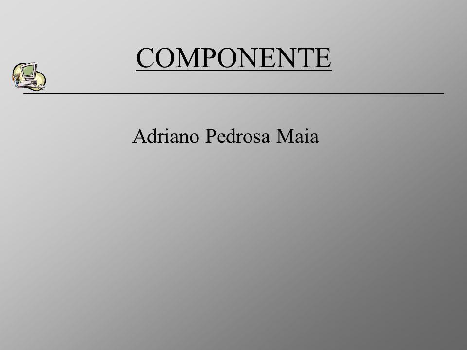 COMPONENTE Adriano Pedrosa Maia