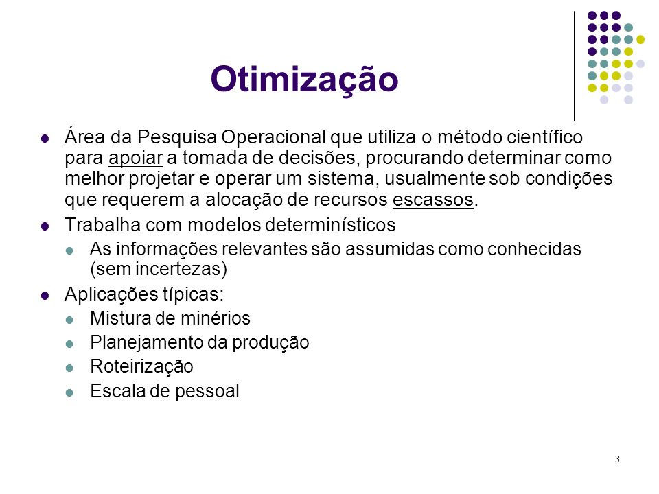 214 Problema de Seleção de Projetos Mineiros Concorrentes – Ex. de opções de projeto por mina