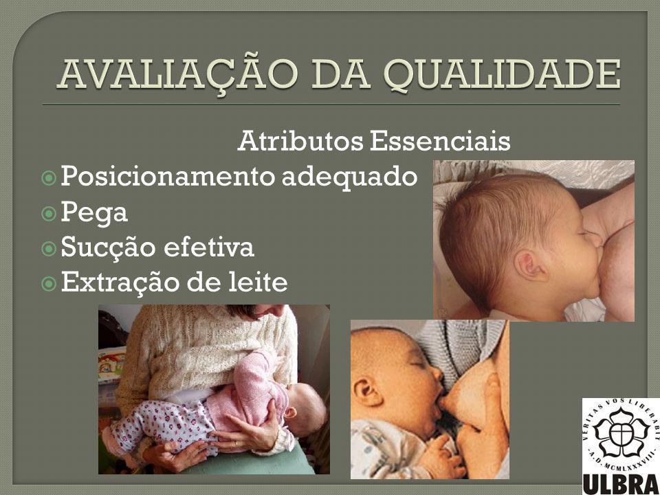 Escott,1989: qualquer posição que seja confortável para a mãe/bebê, possibilite manter o bebê centralizado com a mama, suficiente extração e deglutição do leite e, que respire livremente.