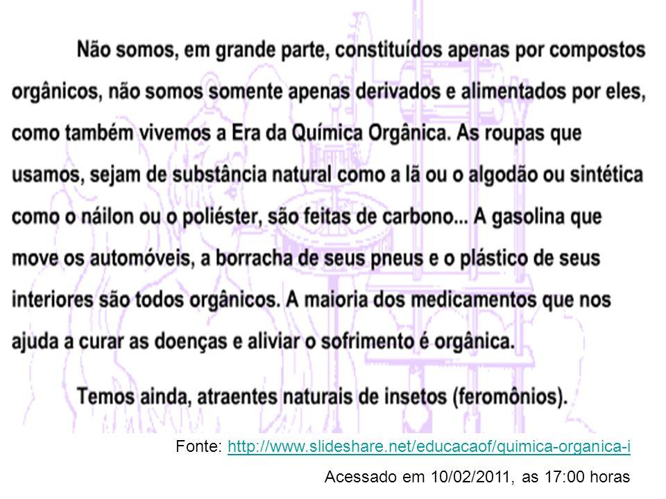 CARACTERÍSTICAS DO CARBONO & FORMAÇÃO DE CADEIAS CARBÔNICAS