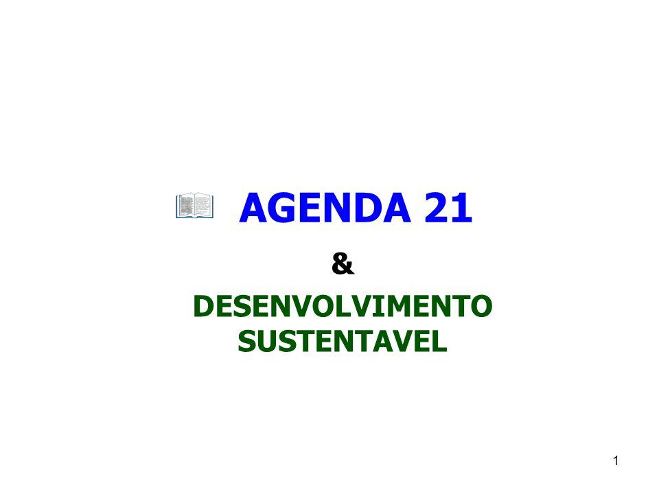 1 AGENDA 21 & DESENVOLVIMENTO SUSTENTAVEL