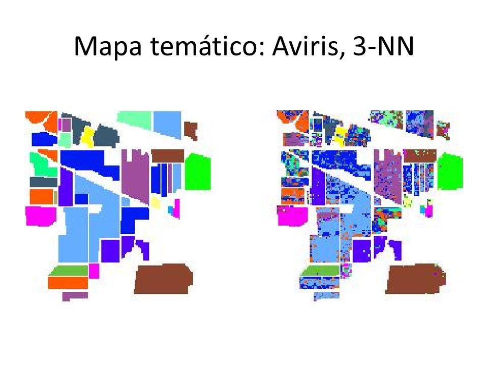 Mapa temático: Aviris, 3-NN