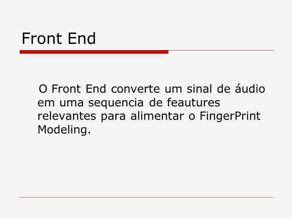 FingerPrint Modeling Redução da Dimensionalidade.
