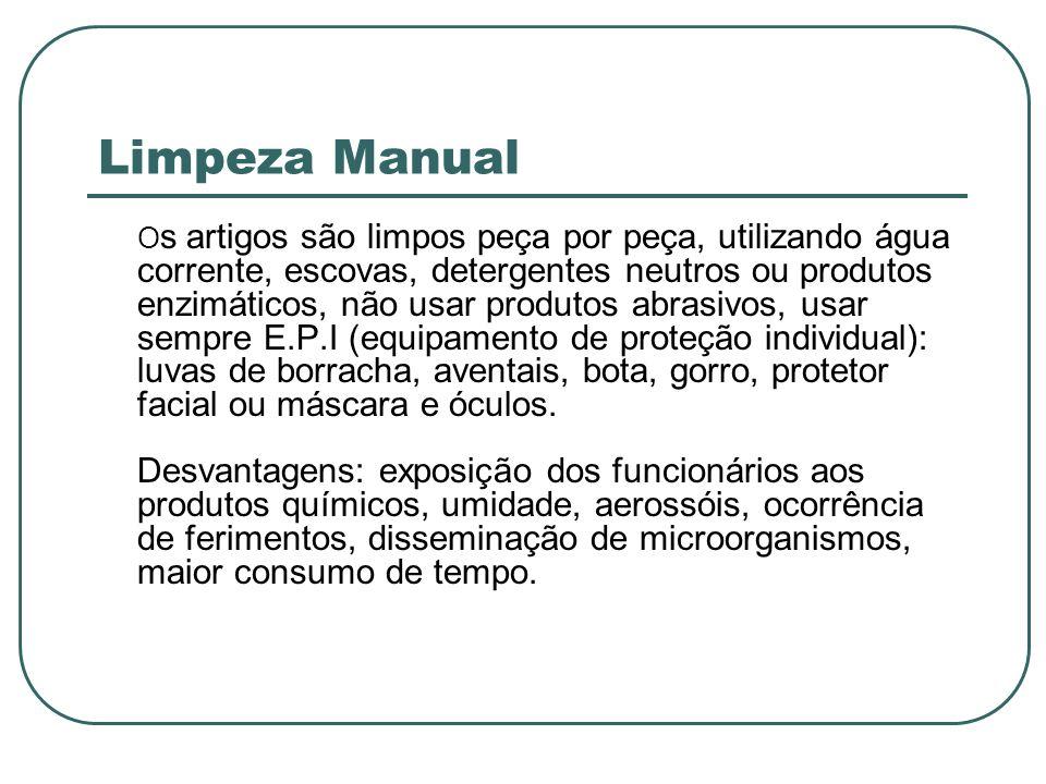 Limpeza Manual