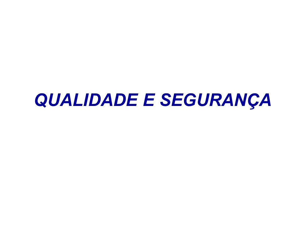 JCAHO JCAHO – criada em 1950 JC Internacional – americana – criada em 1999 Brasil – Consórcio Brasileiro de Acreditação – 2000 Hospitais, laboratórios de análises clínicas, assistência domiciliária e serviços de transportes médicos