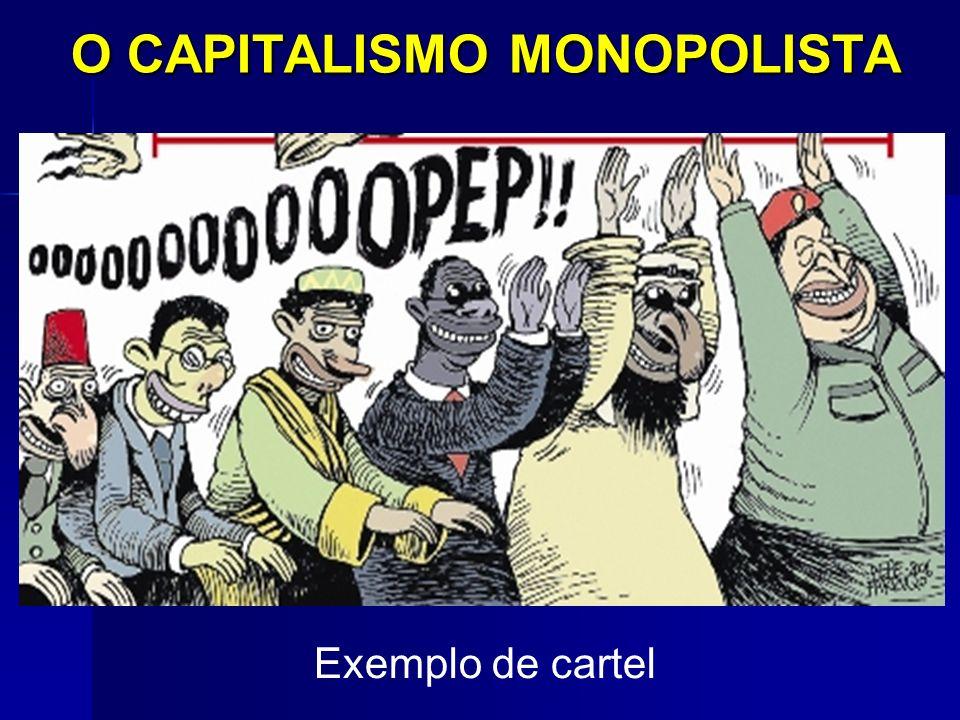 O CAPITALISMO MONOPOLISTA Exemplo de cartel