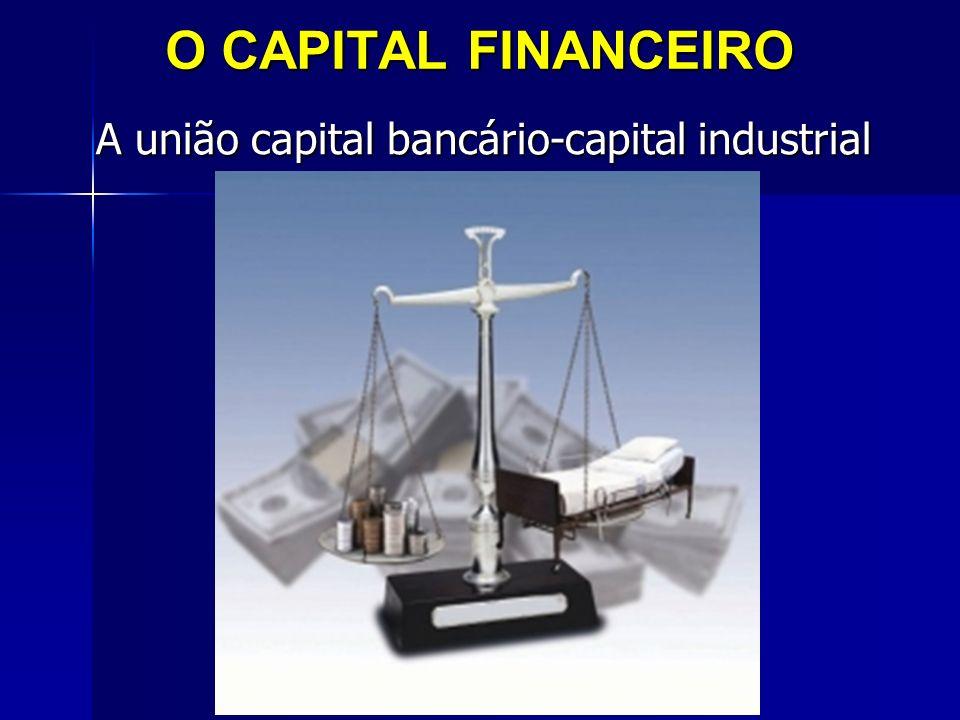 O CAPITAL FINANCEIRO A união capital bancário-capital industrial