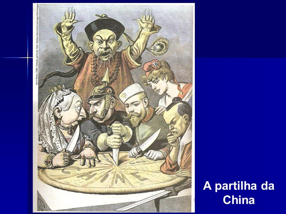 A partilha da China