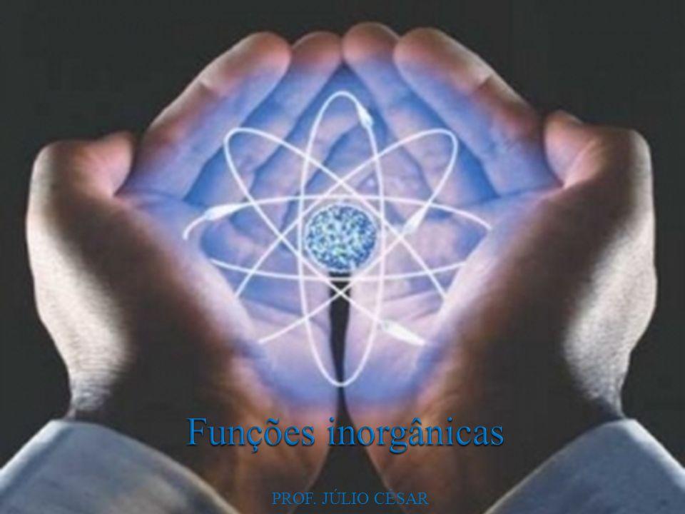 Função química corresponde a um conjunto de substâncias que apresentam propriedades químicas semelhantes.