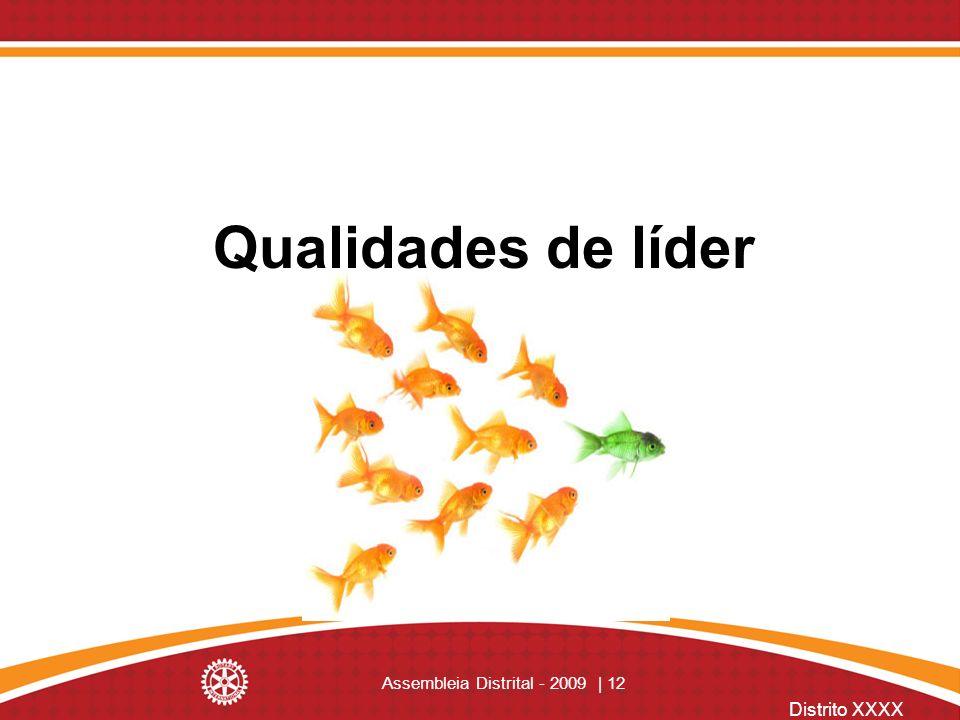 Distrito XXXX Assembleia Distrital - 2009 | 12 Qualidades de líder