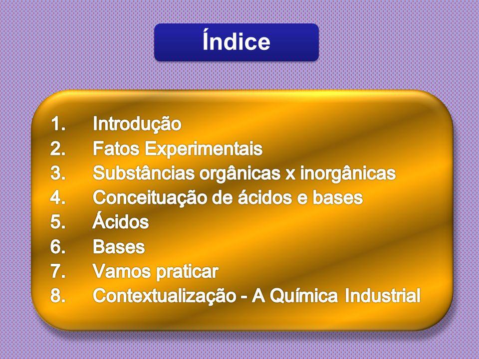 32 Principais ácidos e suas aplicações Depois do ácido sulfúrico, o ácido nítrico é o mais fabricado e consumido na indústria.