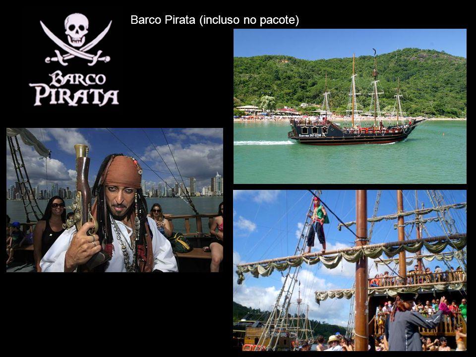 Barco Pirata (incluso no pacote)