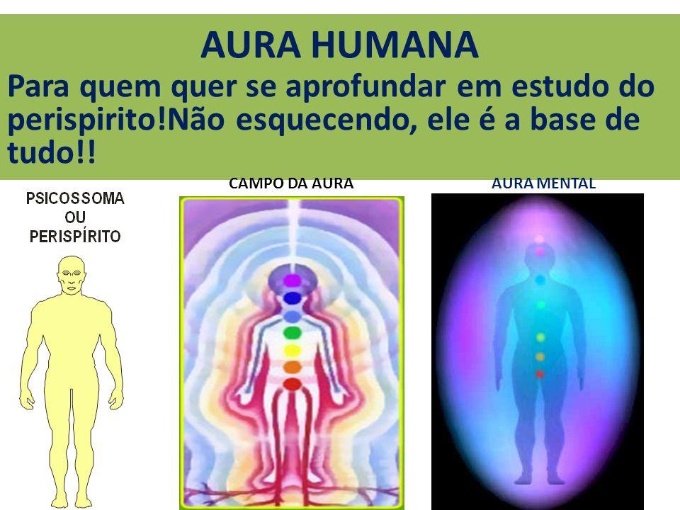 AURA HUMANA Para quem quer se aprofundar em estudo do perispirito!Não esquecendo, ele é a base de tudo!! AURA MENTALCAMPO DA AURA