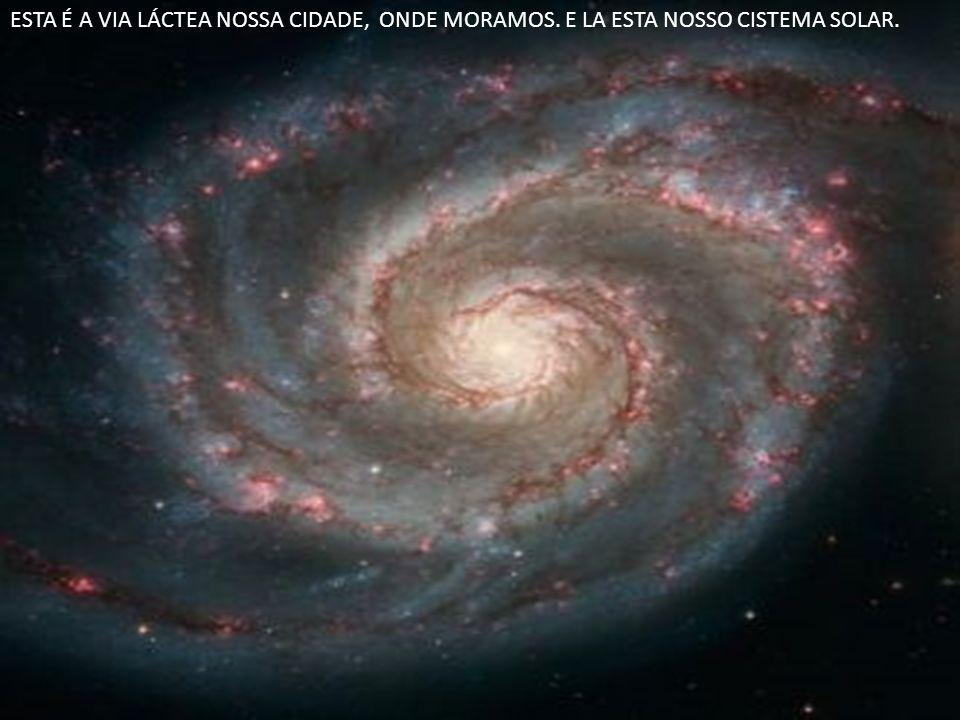 Como vimos, a Via Láctea é classificada como sendo uma galáxia espiral e seus braços giram em torno do núcleo à semelhança de um grande cata- vento.