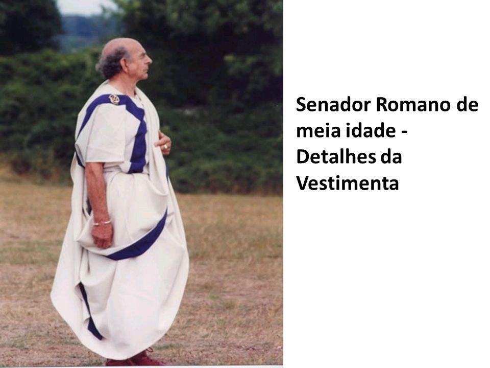 Senadores da Roma Antiga não se elegiam - herdavam o cargo.