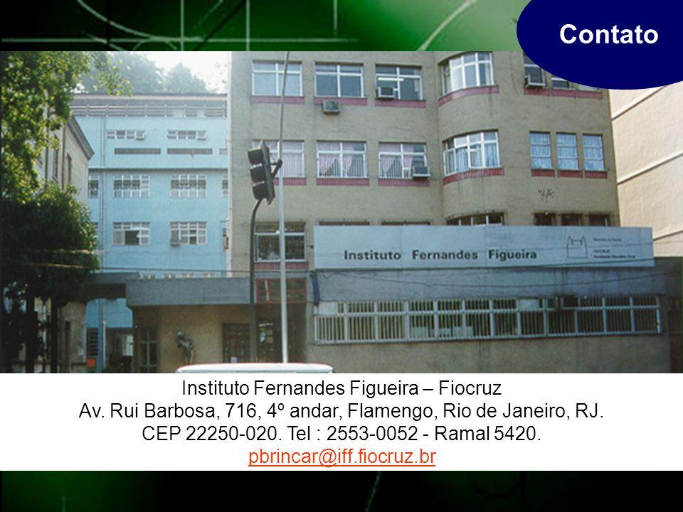 Contato Instituto Fernandes Figueira – Fiocruz Av.