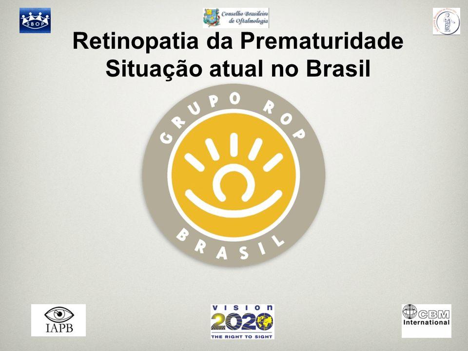 Retinopatia da Prematuridade Situação atual no Brasil