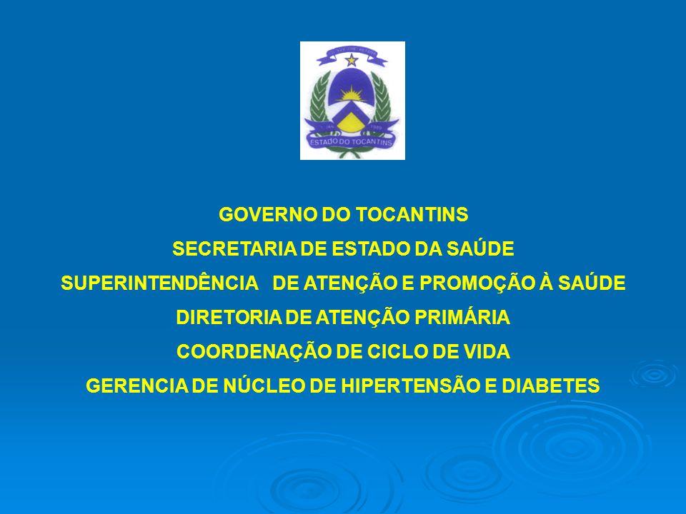Plano de Reorganização Estadual da Atenção à Hipertensão e Diabetes Contexto Histórico: No ano de 2002 foi implantado o Plano de Reorganização da Atenção à Hipertensão Arterial e ao Diabetes Mellitus no Brasil, pelo Ministério da Saúde, em parceria com as sociedades brasileiras de Cardiologia, Nefrologia, Hipertensão e Diabetes, secretarias estaduais e municipais de Saúde, conselhos nacionais de Secretários Estaduais de Saúde (CONASS) e de Secretários Municipais de Saúde (CONASEMS), Federação Nacional de Portadores de Hipertensão e de Diabetes, em uma ação conjunta da União, estados e municípios.