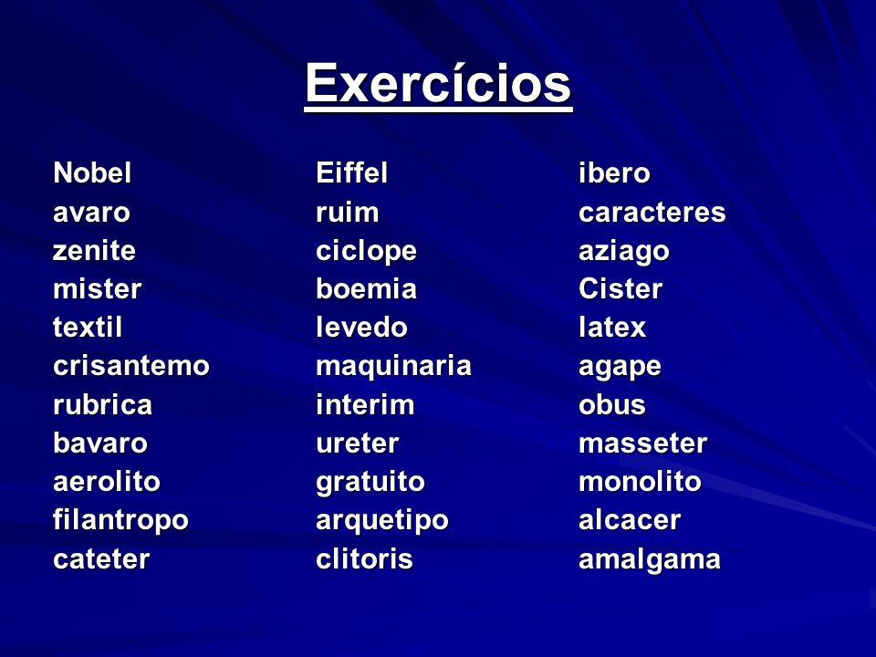 Encontros vocálicos Dois encontros vocálicos deverão levar acento circunflexo na língua portuguesa se a primeira das vogais for a tônica: êe e ôo.