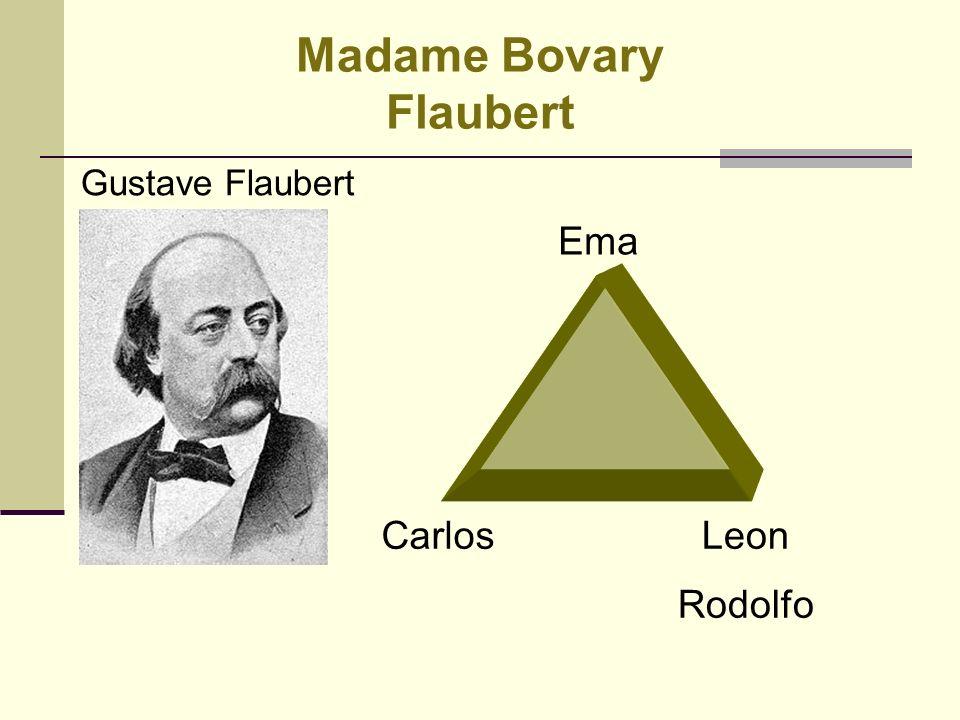 Realismo - Madame Bovary Gustave Flaubert Personagens: Ema - Carlos: casal, com uma filha pequena Berta.