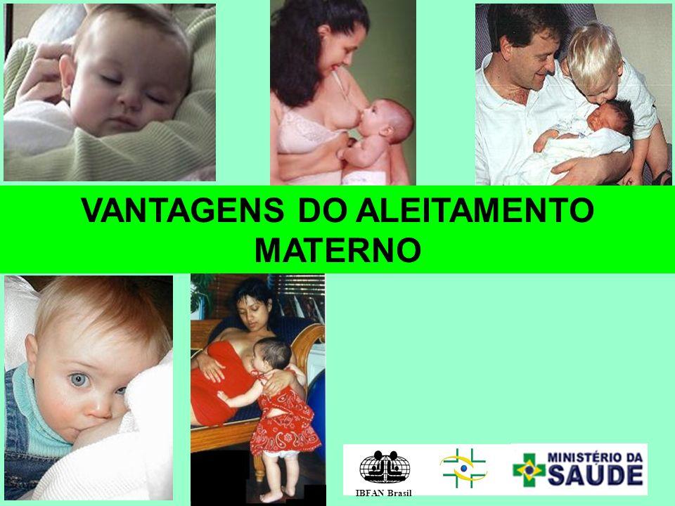 VANTAGENS DO ALEITAMENTO MATERNO IBFAN Brasil