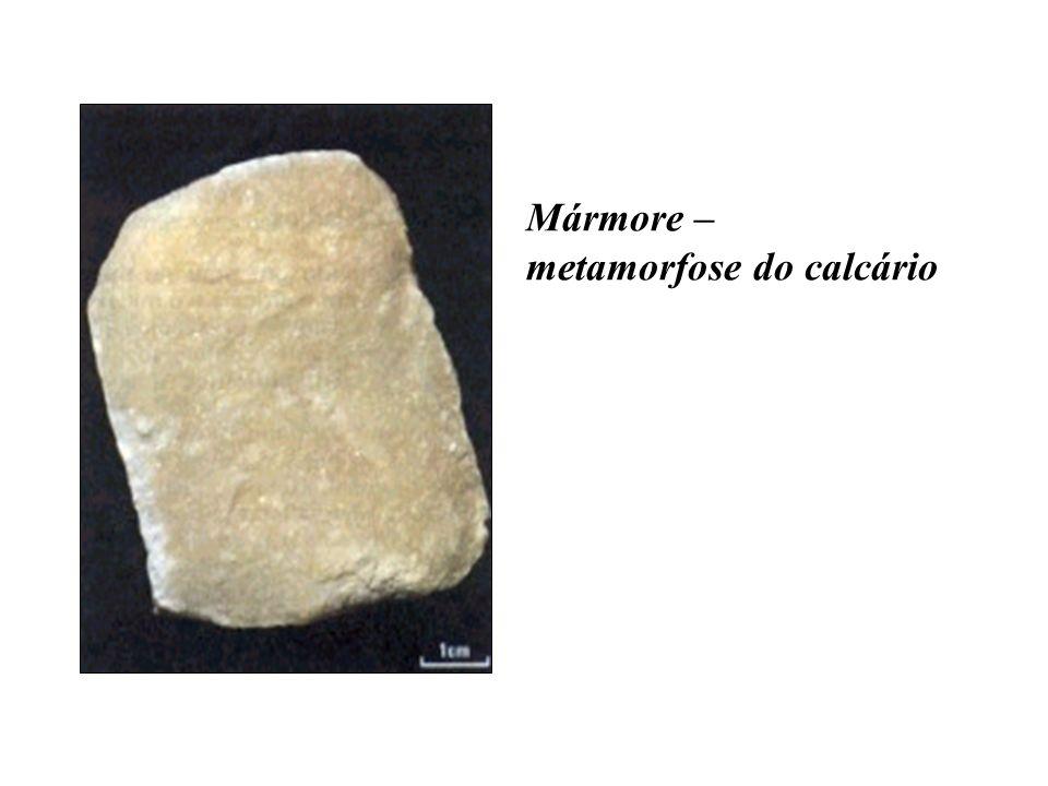 Mármore – metamorfose do calcário