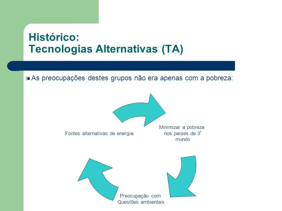 As modalidades de AST 5 – Alternativas tecnológicas Implica a percepção de que as modalidades anteriores, inclusive a do ajuste do processo de trabalho, não são suficientes para dar conta das demandas por AST dos empreendimentos autogestionários, sendo necessário o emprego de tecnologias alternativas à convencional.