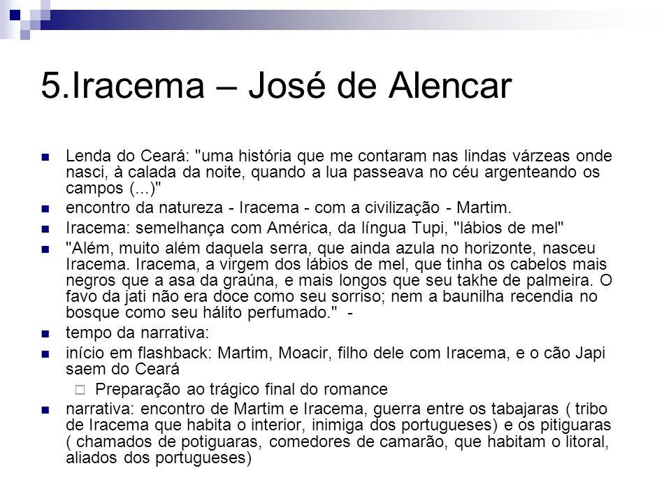 5.Iracema – José de Alencar Lenda do Ceará: