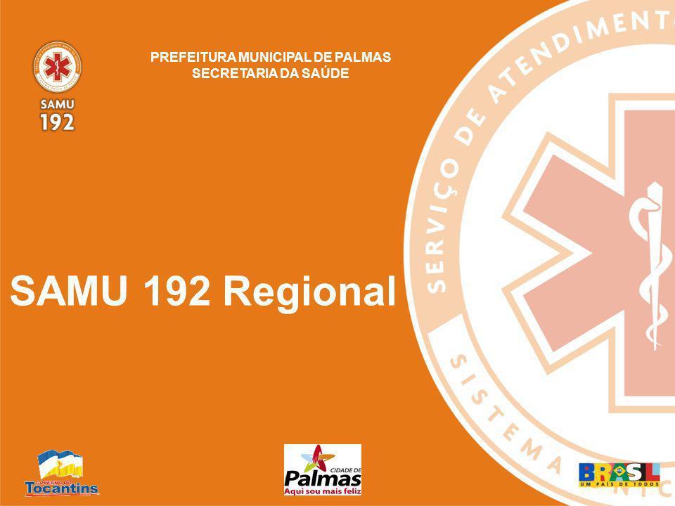 Ampliar acesso ao atendimento do SAMU às populações dos municípios; Regionalização dos serviços e sistemas de Saúde.