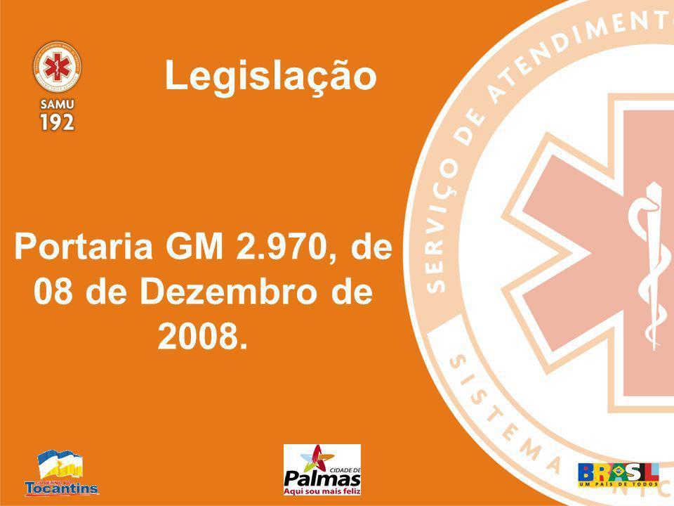 O SAMU 192 Palmas foi habilitado através da Portaria nº 326/GM em 04 de março de 2005, iniciou suas atividades no dia 30 de março de 2005.