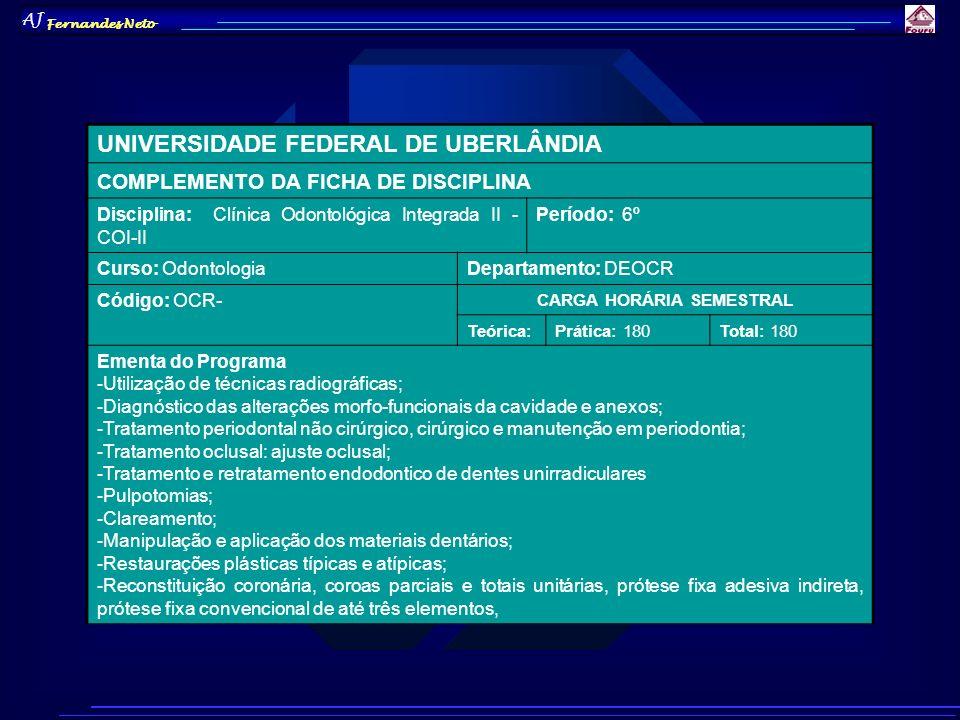 AJ Fernandes Neto 13.CONCLUSÃO Aluno: / /Prof.