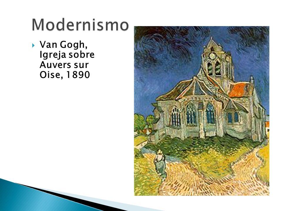 Van Gogh, Igreja sobre Auvers sur Oise, 1890