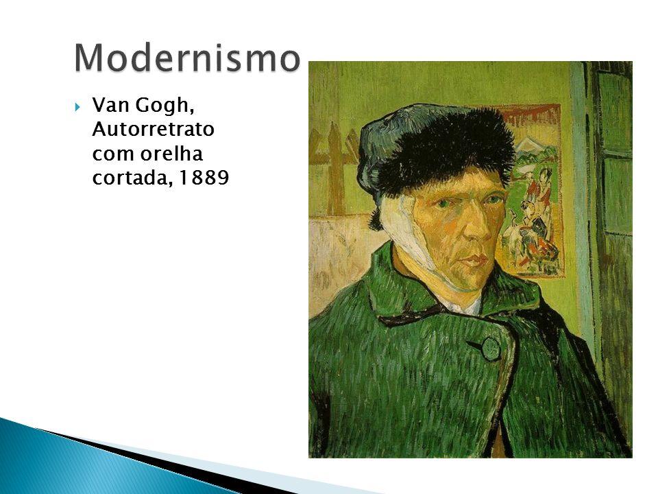 Van Gogh, Autorretrato com orelha cortada, 1889