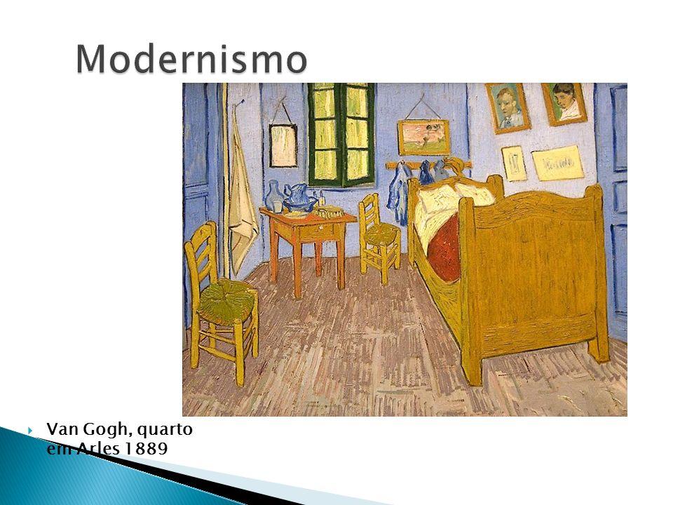 Van Gogh, quarto em Arles 1889