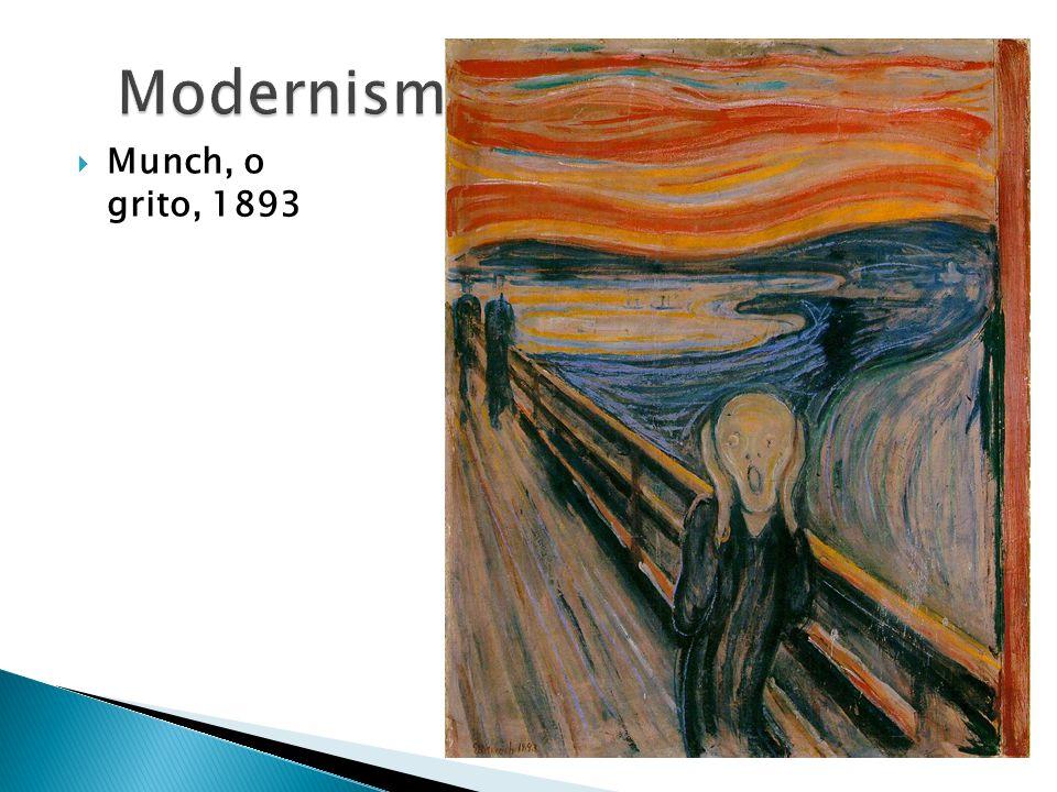 Munch, o grito, 1893