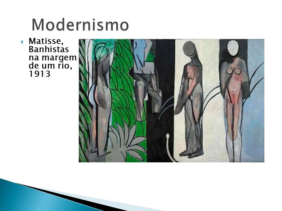 Matisse, Banhistas na margem de um rio, 1913