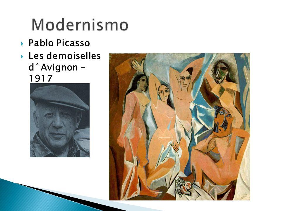 Pablo Picasso Les demoiselles d´Avignon - 1917