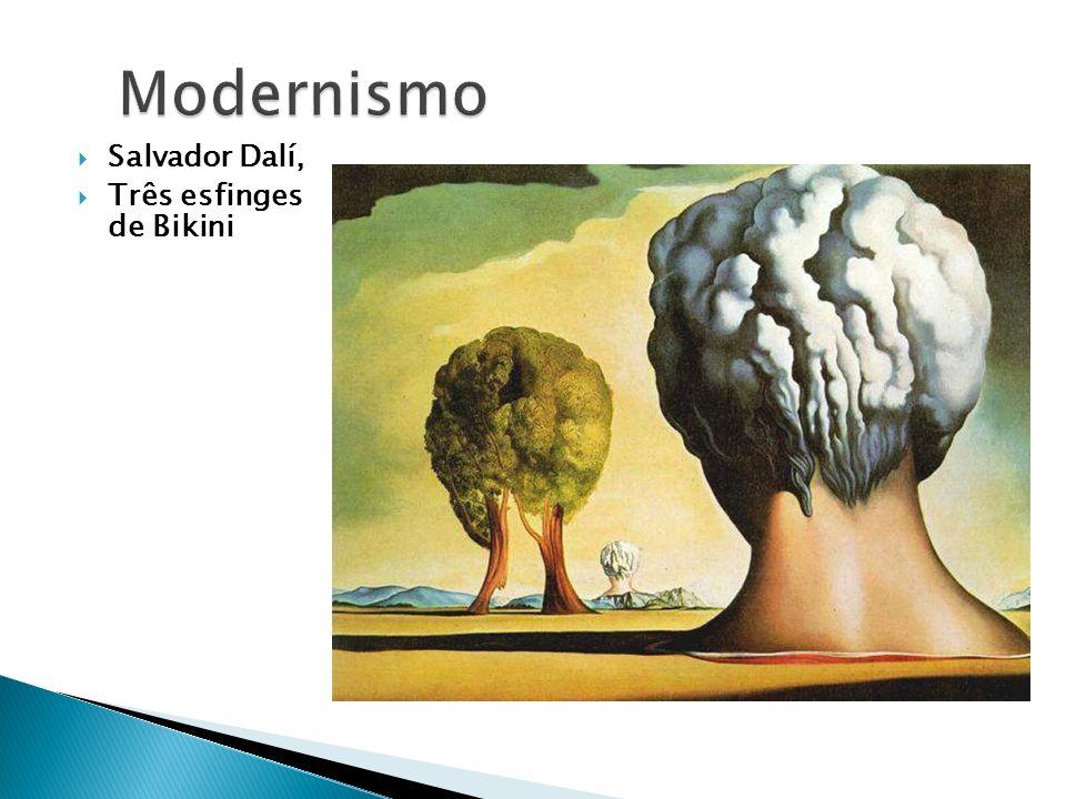 Salvador Dalí, Três esfinges de Bikini