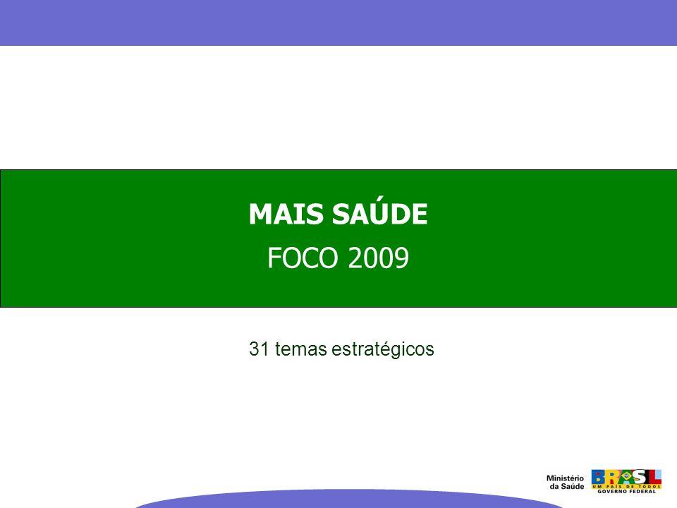FOCO 2009 31 temas estratégicos