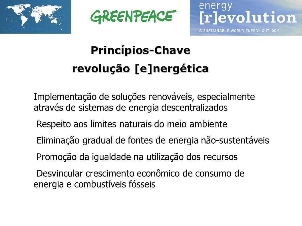 1.Implementação de soluções renováveis, especialmente através de sistemas de energia descentralizados 2. Respeito aos limites naturais do meio ambient