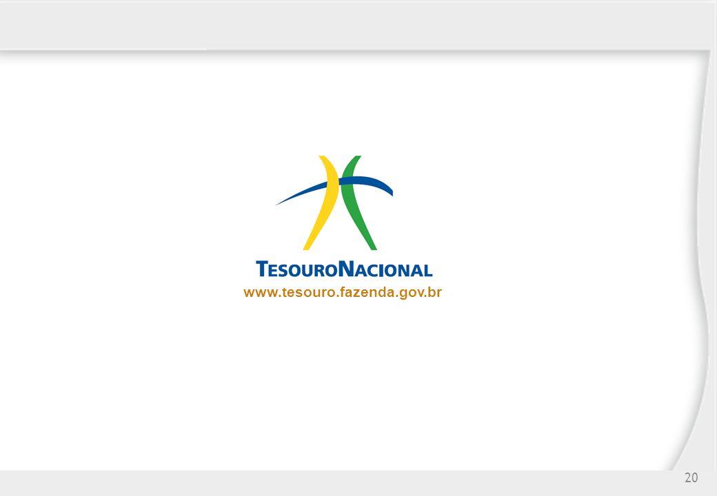 www.tesouro.fazenda.gov.br 20