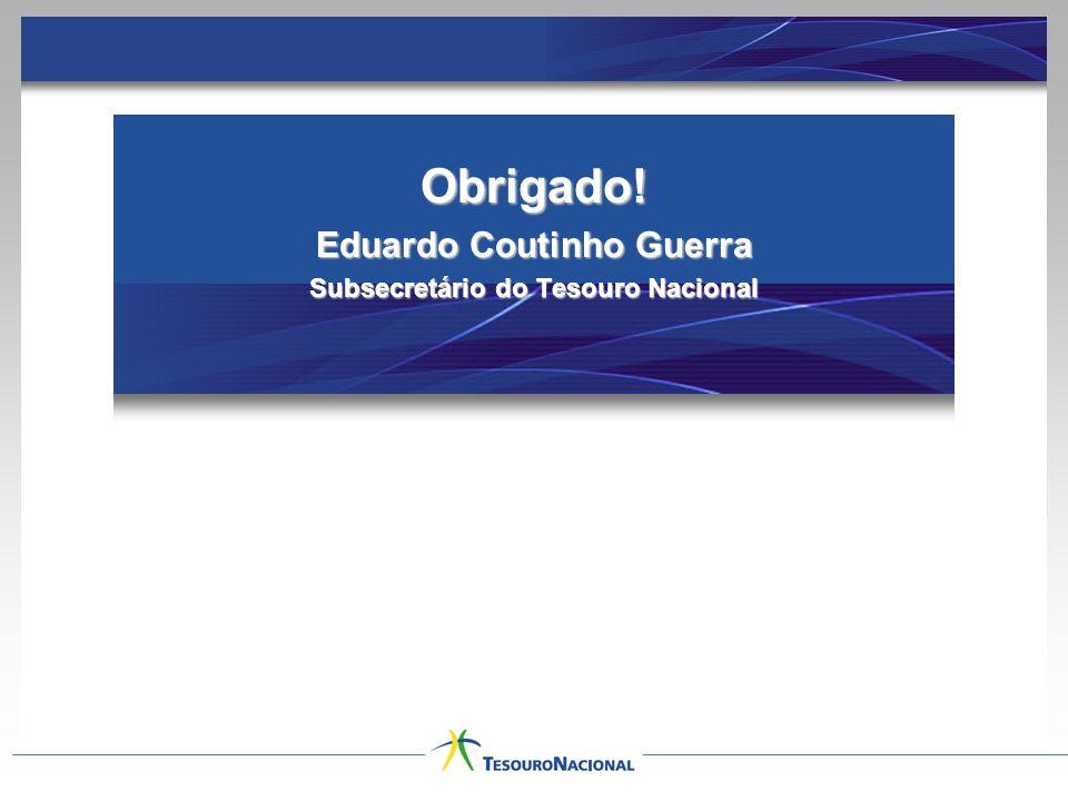 FUNDOS DE INVESTIMENTOS REGIONAIS Obrigado! Eduardo Coutinho Guerra Subsecretário do Tesouro Nacional