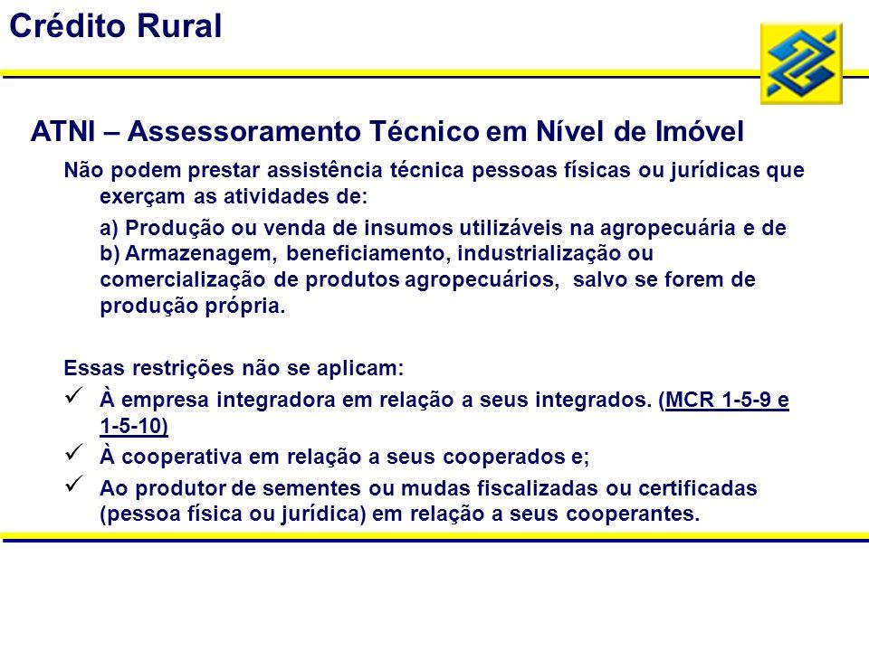 Não podem prestar assistência técnica pessoas físicas ou jurídicas que exerçam as atividades de: a) Produção ou venda de insumos utilizáveis na agrope