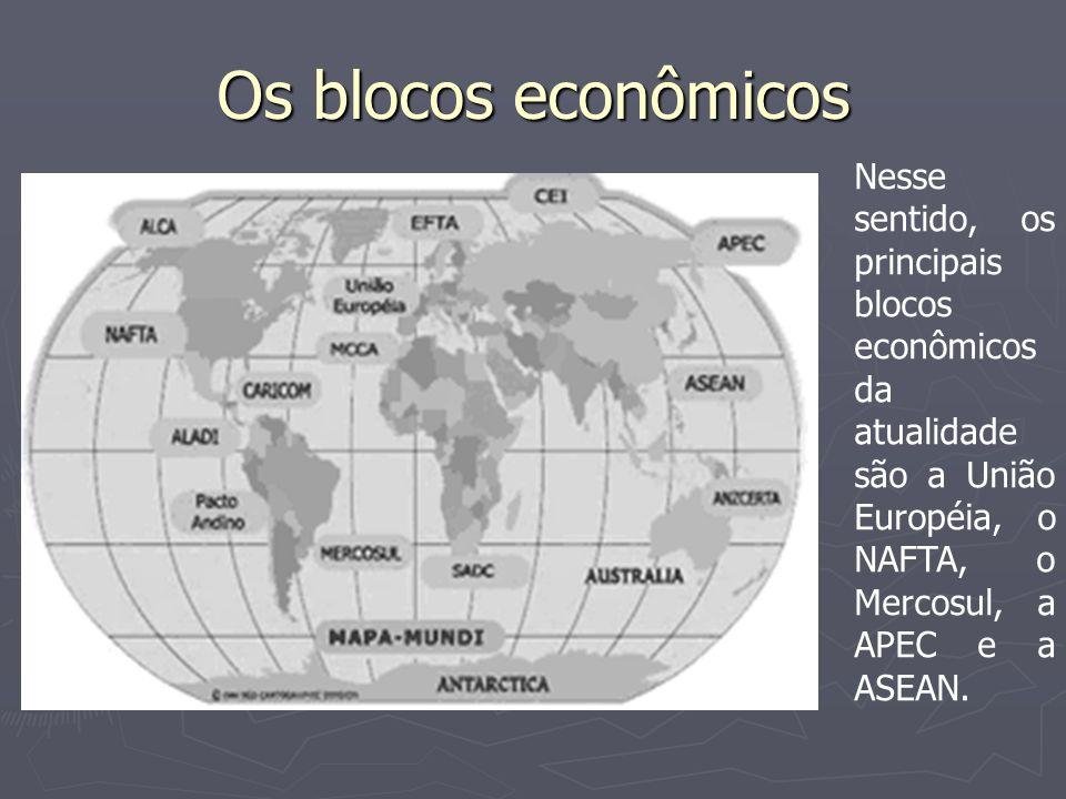 União européia Integrantes: EUROPA DOS 15 - Bélgica, Holanda, Luxemburgo, França, Itália e Alemanha (1957), Reino Unido, Irlanda, Dinamarca (1973), Grécia (1981), Espanha, Portugal (1986), Suécia, Finlândia e Áustria (1995).