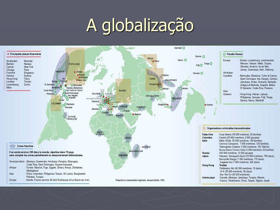 Globalização (PUC RIO)A globalização procura expandir os mercados e portanto os lucros, que é o que de fato movimenta os fluxos de capital.
